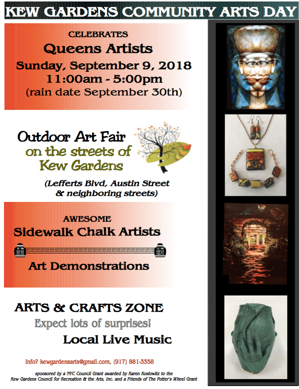 2018 Kew Gardens Community Arts Day